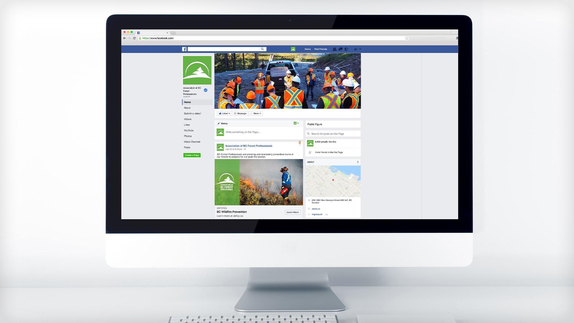 ABCFP Digital campaign facebook mockup