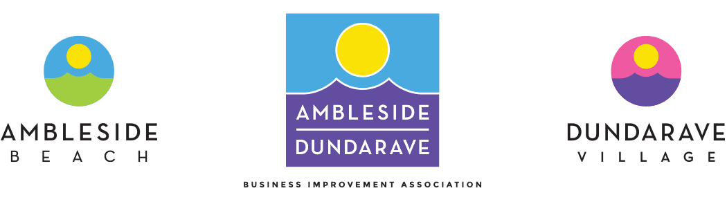 Ambleside Dundarave Business Improvement Association logo family