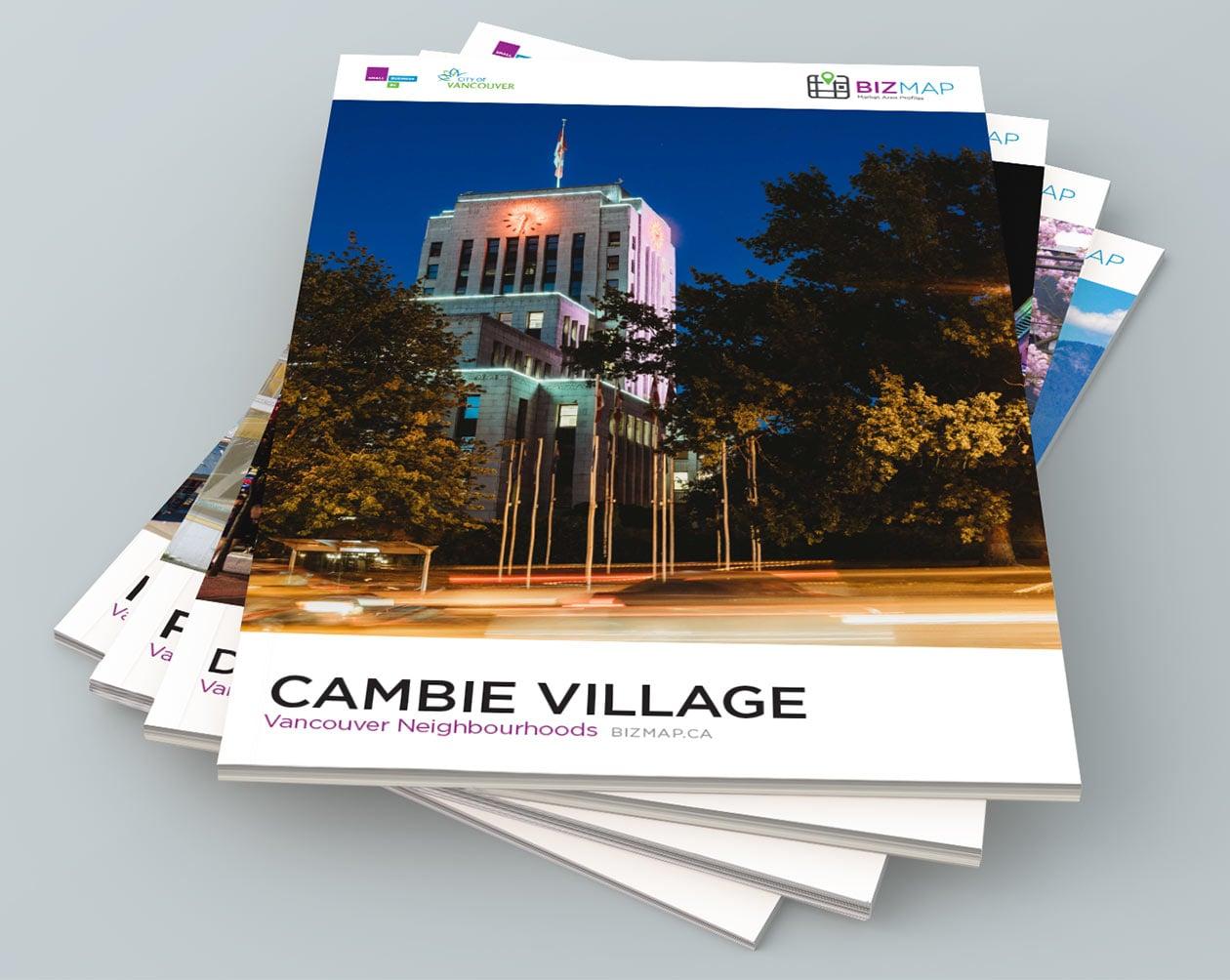 Small Business BC BizMap BIA Profiles Cambie Village