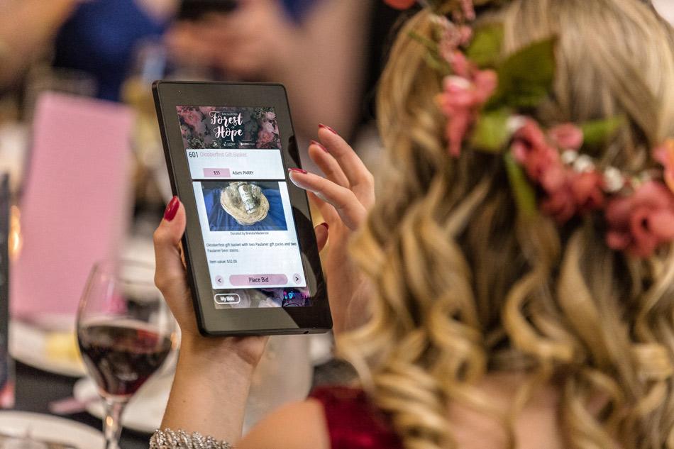65 Roses Gala 2018 Givergy platform