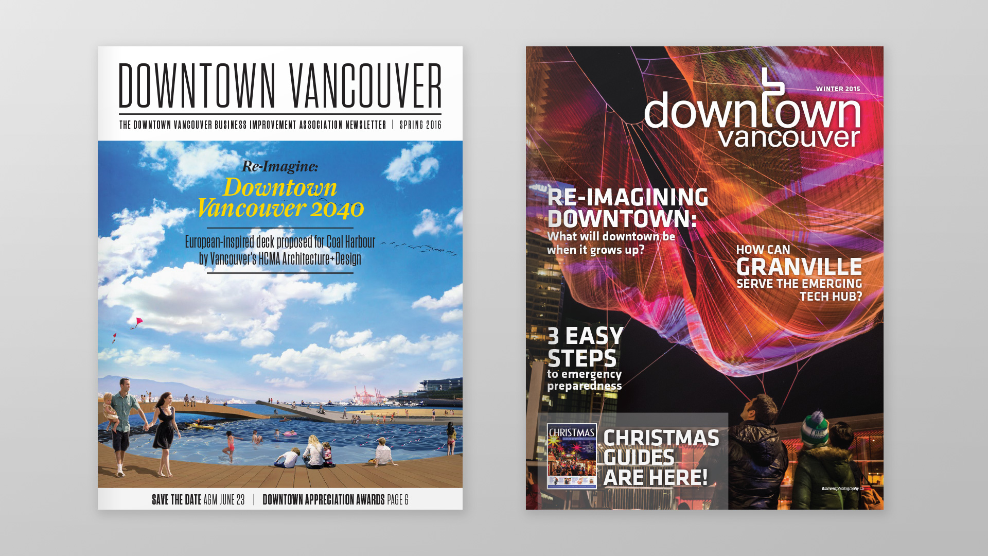 DVBIA Newsletters, new and old