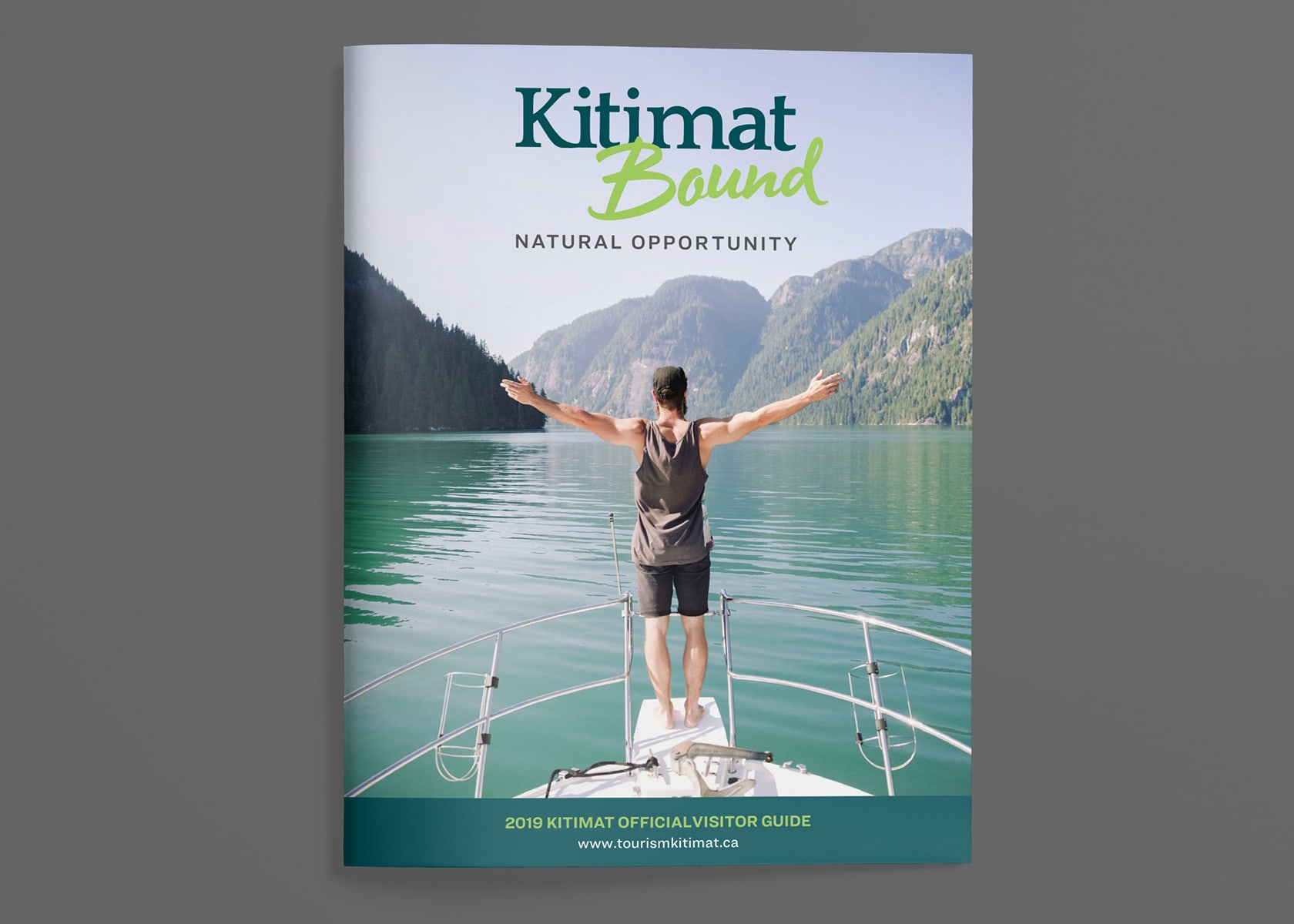 District of Kitimat - Kitimat Bound 2019 Visitors Guide cover