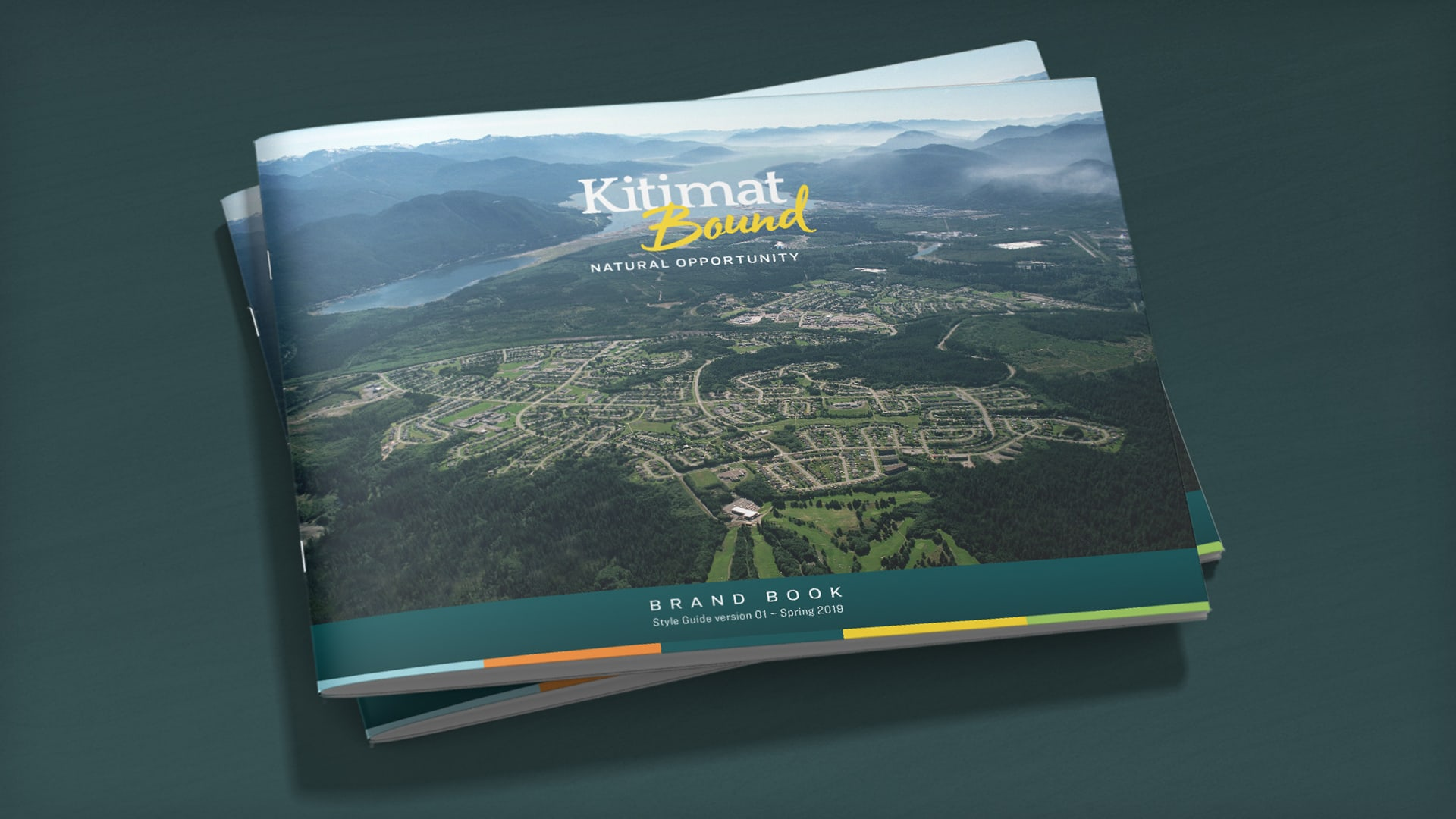 District of Kitimat - Kitimat Bound brand book covers
