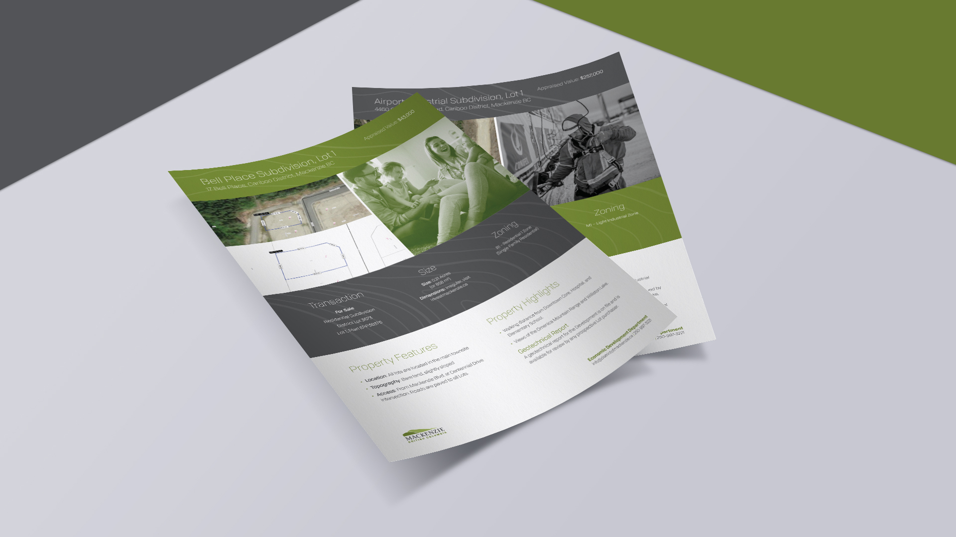 District of Mackenzie Property Info Sheets