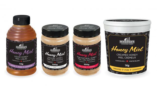 McKenzie's Country Farm Honey Packaging