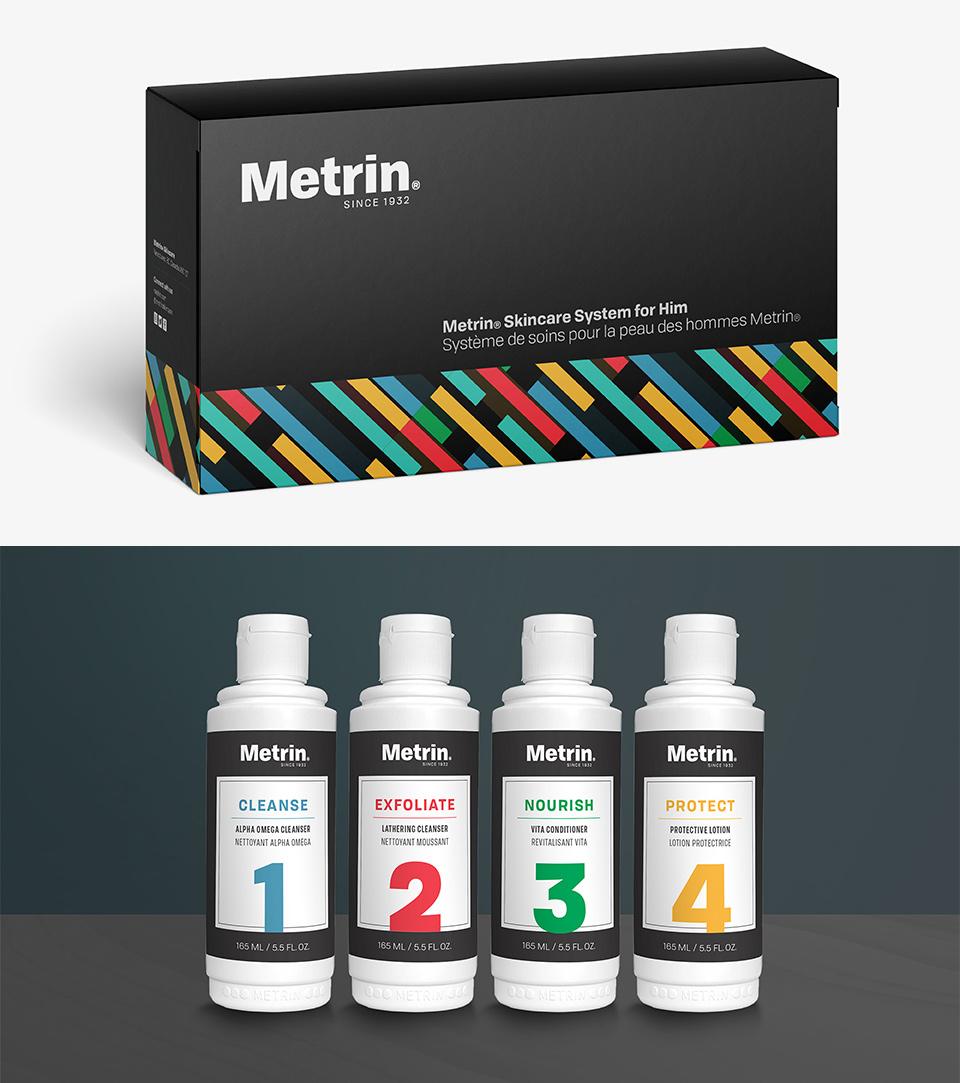 Metrin Men's Skincare System