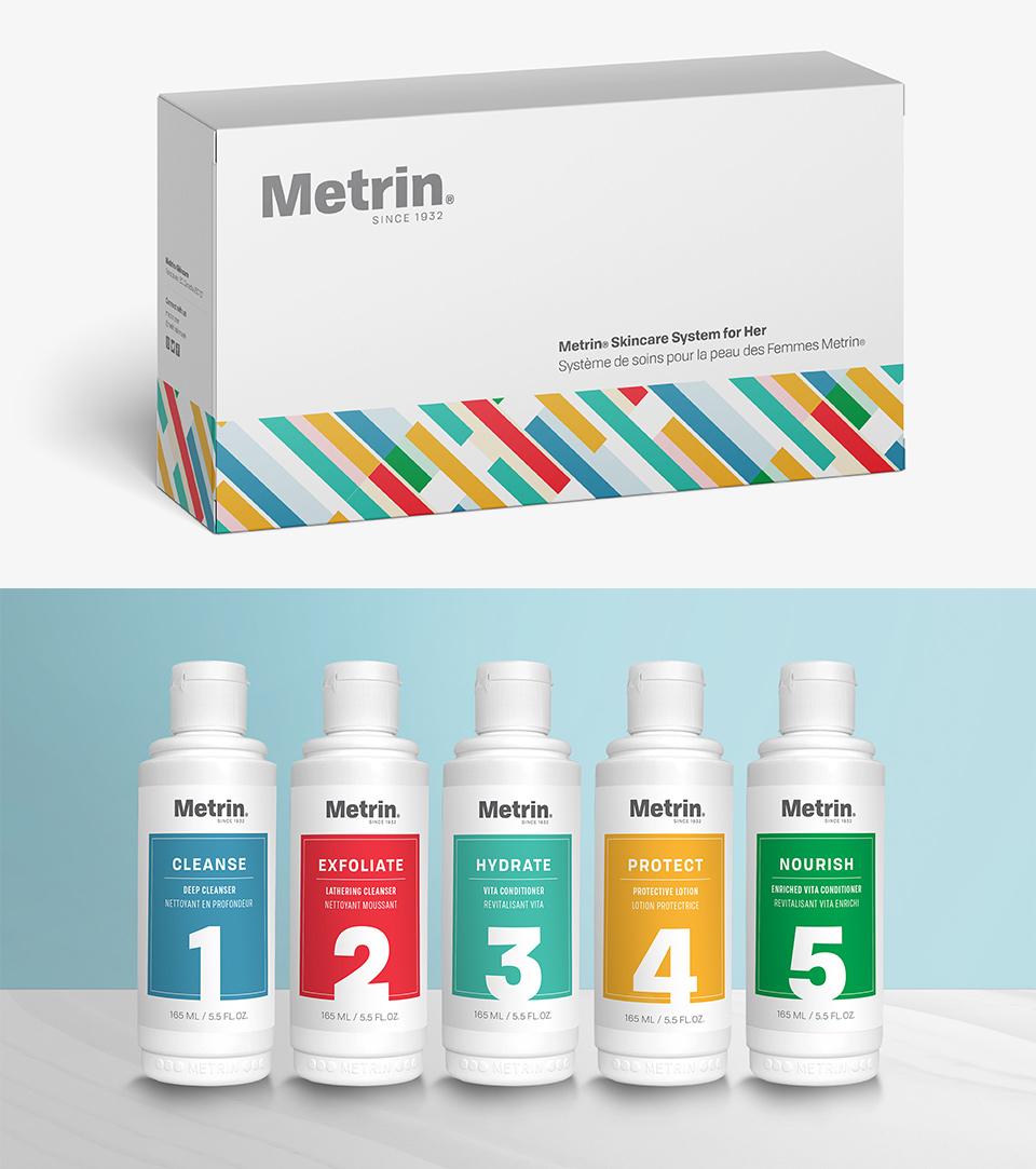 Metrin Women's Skincare System
