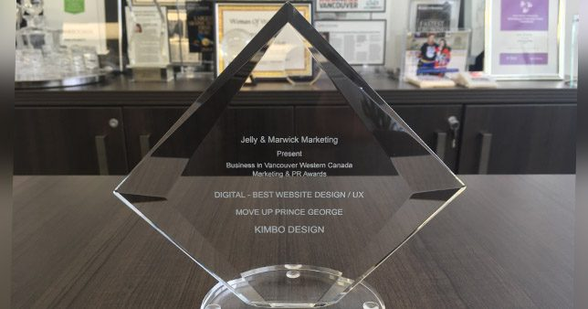 Kim Pickett won western canadian marketing awards