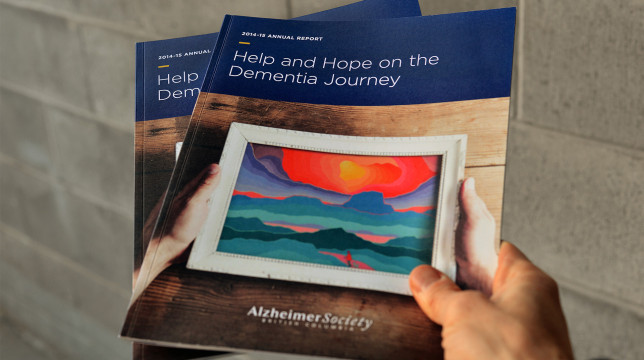 Alzheimer's Society Annual Report