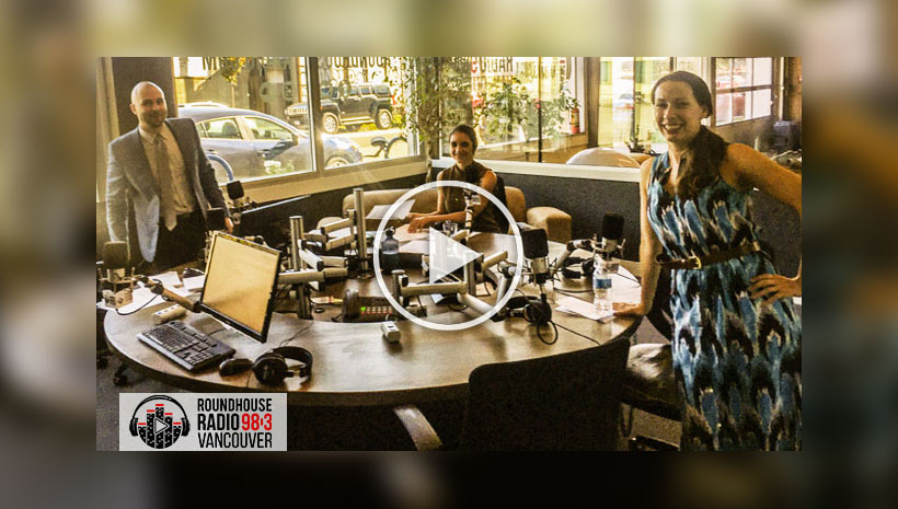 Kim was interviewed at Vancouver's Roundhouse Radio about our Move Up Prince George campaign.