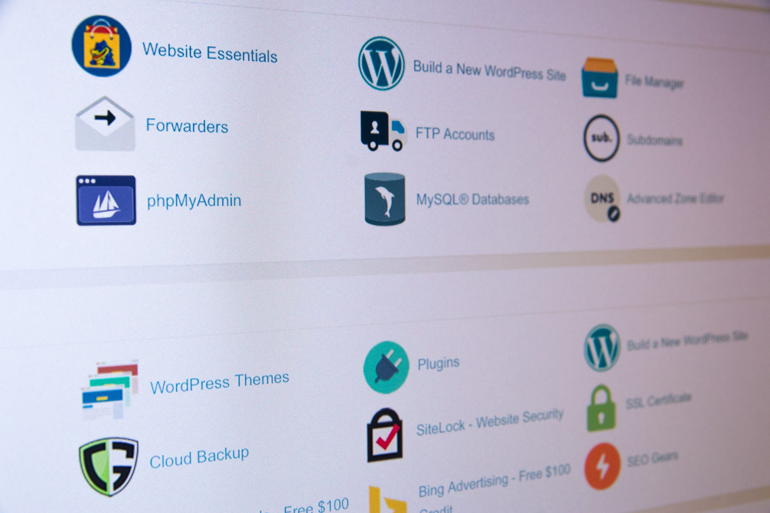 A picture of a computer screen on the page of WordPress plugins